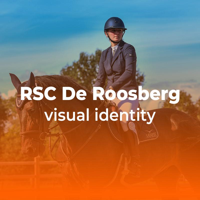 RSC de Roosberg Visual identity Case pagina knop